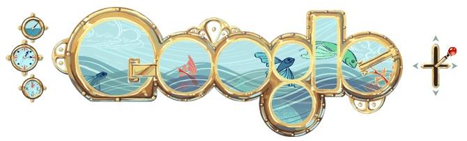 Logo Google Jules Verne