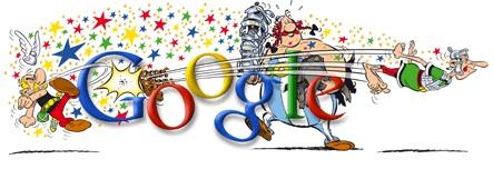 Logo Google Astérix