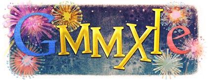 Logo Google Année 2011