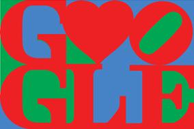 Logo Google St Valentin 2011